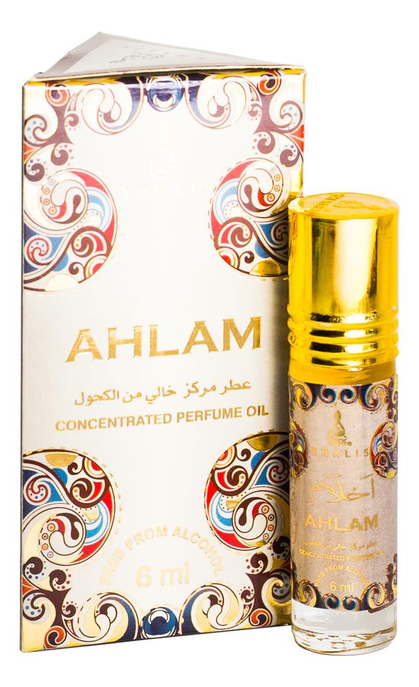 Khalis Ahlam: масляные духи 6мл khalis noor масляные духи 6мл