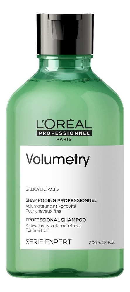 Шампунь для придания объема Serie Expert Volumetry Salicylic Acid 300мл