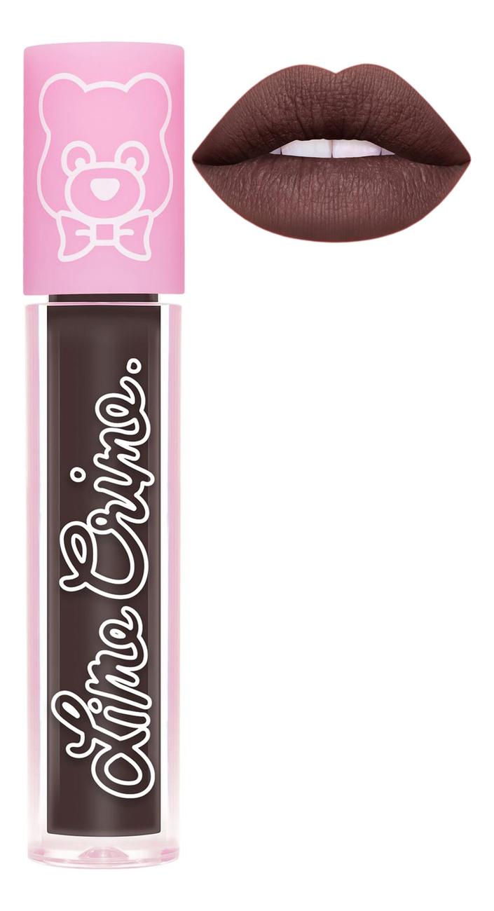Суперлегкая матовая помада для губ Plushies 3,5мл: Smokey lime crime помада для губ lime crime plushies glow суперлегкая оттенок popsicle