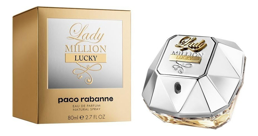 Paco Rabanne Lady Million Lucky: парфюмерная вода 80мл