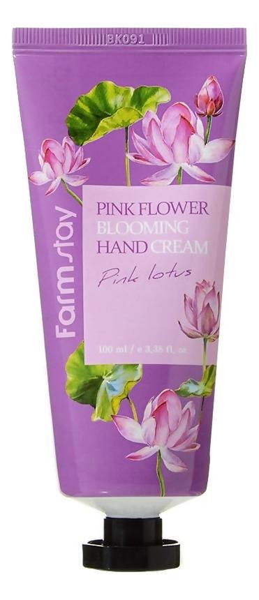Крем для рук Pink Flower Blooming Hand Cream 100мл: Lotus