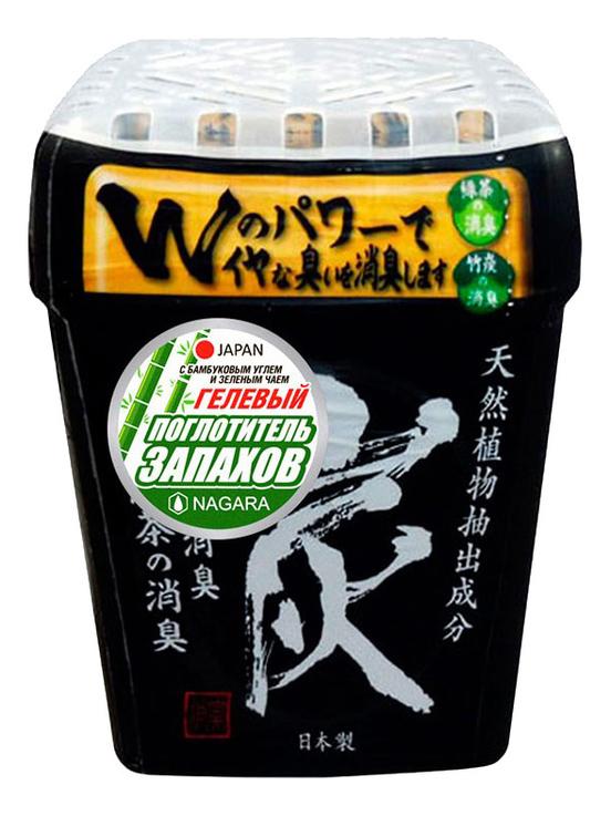 Гелевый поглотитель запаха с бамбуковым углем и зеленым чаем 320г
