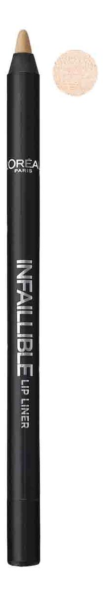 Карандаш для губ Infaillible Lip Liner 1г: 001 Идеальное сияние карандаш для губ infaillible lip liner 1г 212 идеальный капучино