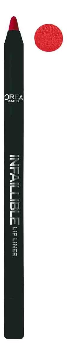 Карандаш для губ Infaillible Lip Liner 1г: 105 Красная фантазия карандаш для губ infaillible lip liner 1г 212 идеальный капучино