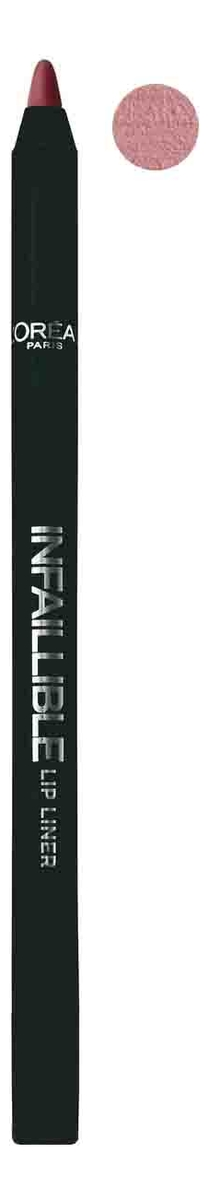 Карандаш для губ Infaillible Lip Liner 1г: 212 Идеальный капучино карандаш для губ infaillible lip liner 1г 212 идеальный капучино