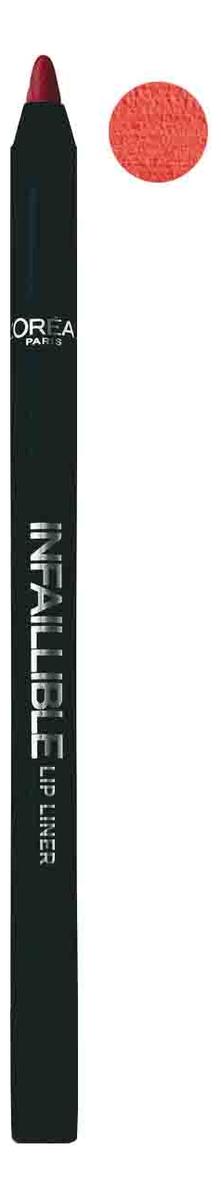 Карандаш для губ Infaillible Lip Liner 1г: 711 Неукротимый красный карандаш для губ infaillible lip liner 1г 212 идеальный капучино