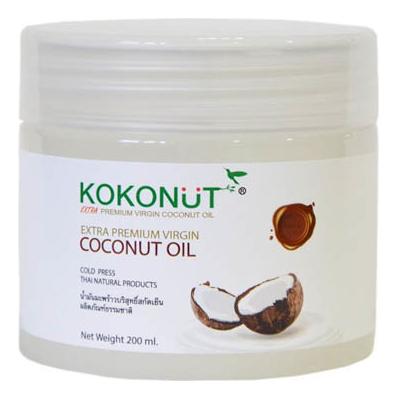 Масло кокосовое для тела Extra Premium Virgin Coconut Oil: Масло 200мл parachute coconut oil кокосовое масло 500 мл