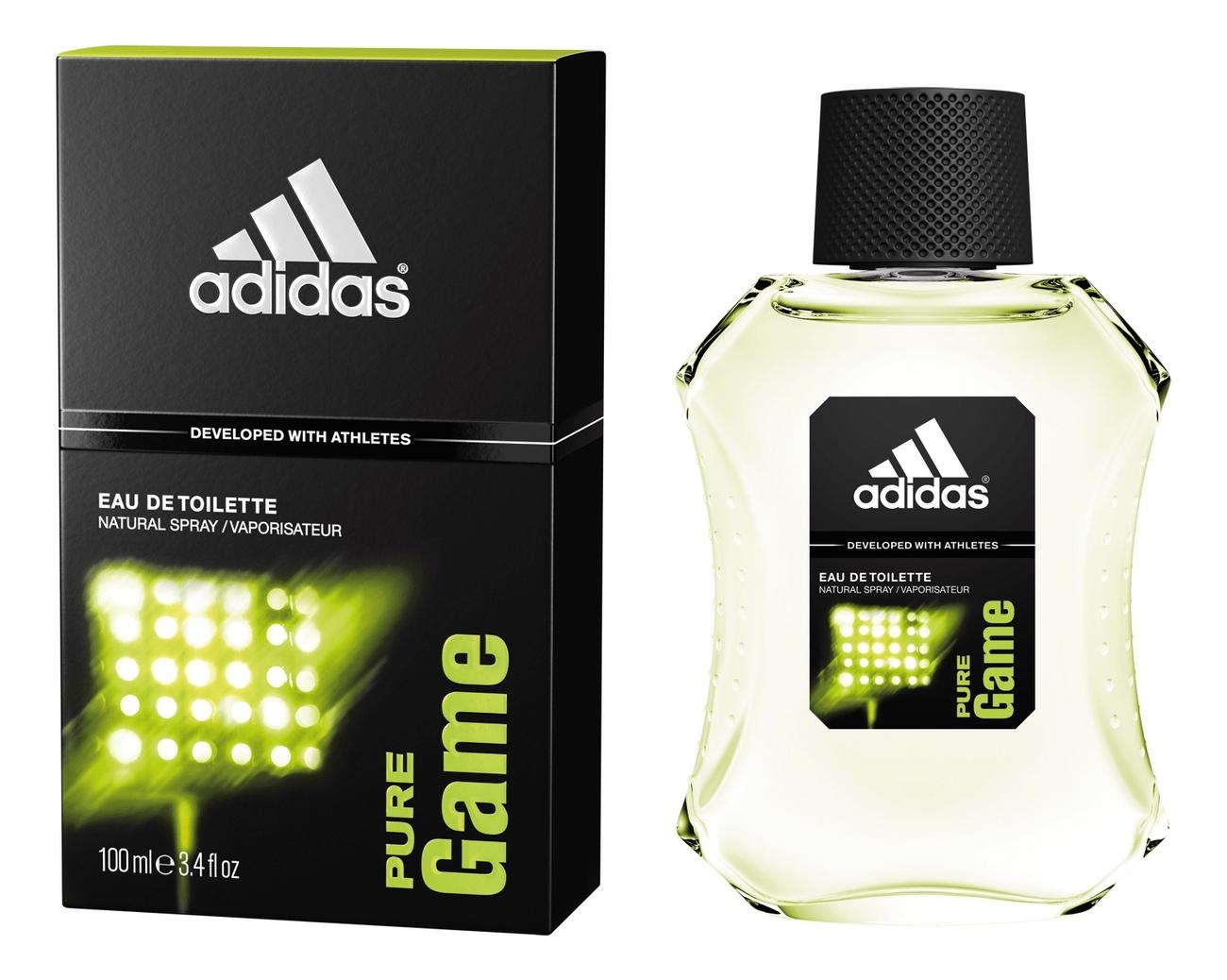 Adidas Pure Game: туалетная вода 100мл adidas ice dive туалетная вода для мужчин 100мл