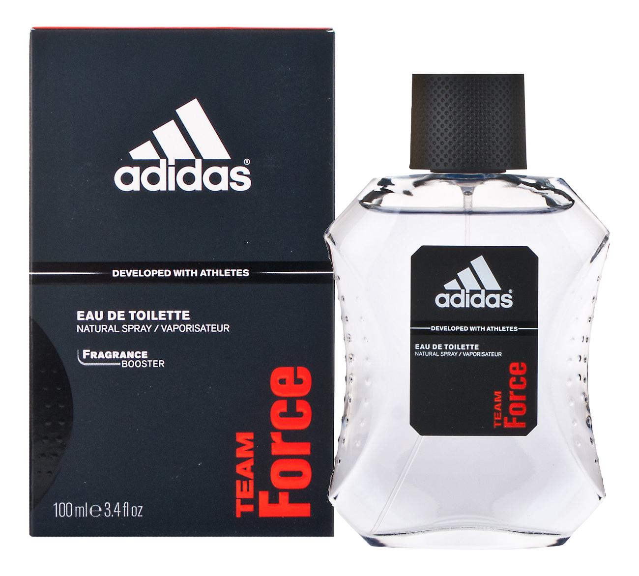 Adidas Team Force: туалетная вода 100мл adidas ice dive туалетная вода для мужчин 100мл