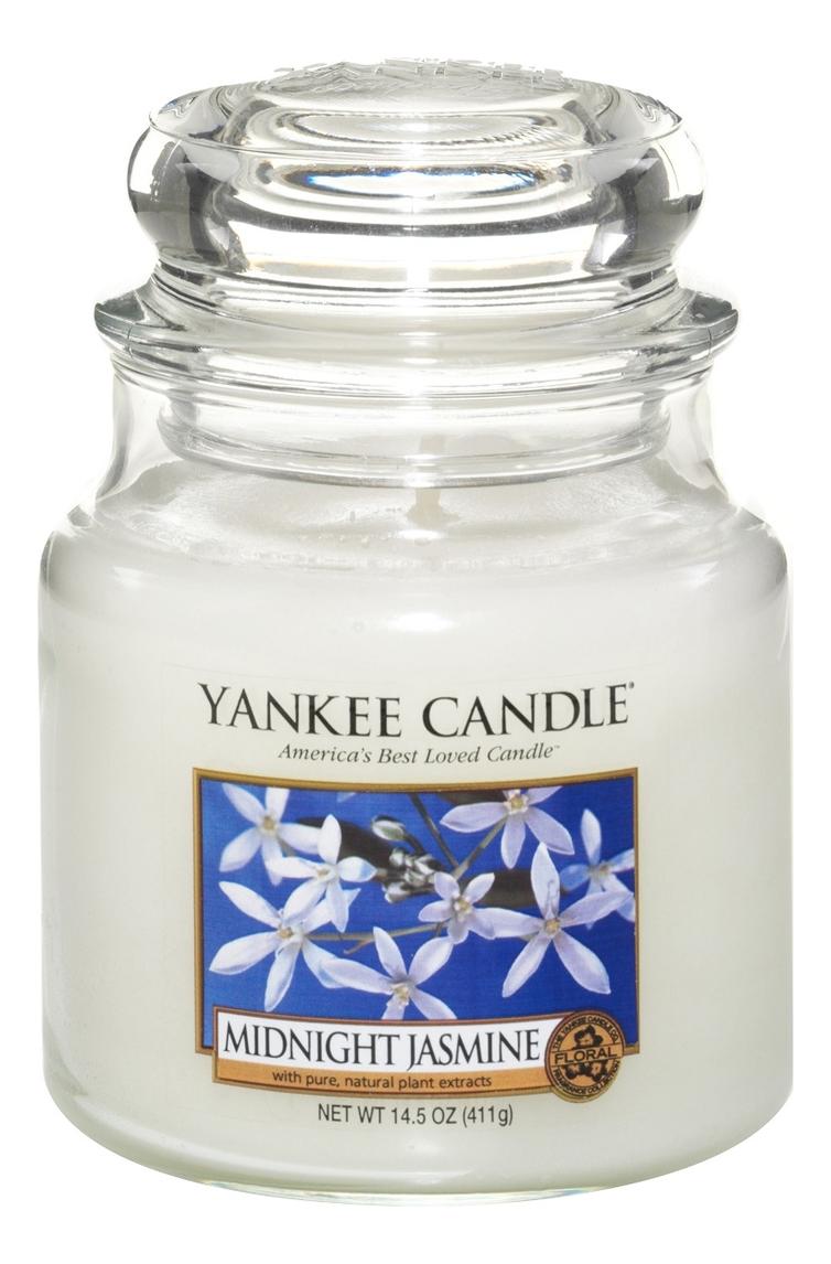 Ароматическая свеча Midnight Jasmine: Свеча 411г ароматическая свеча moonlit blossoms свеча 411г