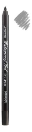 Карандаш для глаз Waterproof Gel Eye Liner 1,1г: NFB79 Twinkle Black shik карандаш для глаз kajal liner оттенок 04 twinkle