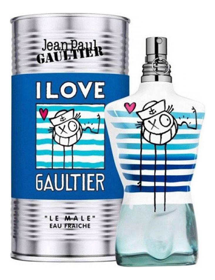 Jean Paul Gaultier Le Male Eau Fraiche Andre Edition: туалетная вода 125мл jean paul gaultier by jean paul gaultier eau de toilette spray 2 5 oz