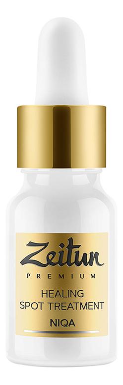 Противовоспалительный эликсир для точечного нанесения с маслом черного тмина Premium Healing Spot Treatment Niqa 10мл zeitun преображающий масляный эликсир niqa для проблемной кожи лица с серебром 30 мл