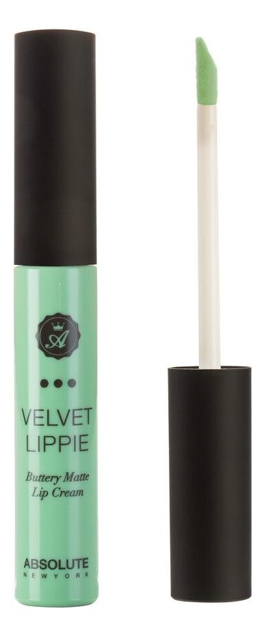 Жидкая матовая помада для губ Velvet Lippie 6мл: AVL03 Mojito absolute new york жидкая матовая помада velvet lippie 26 оттенков mojito