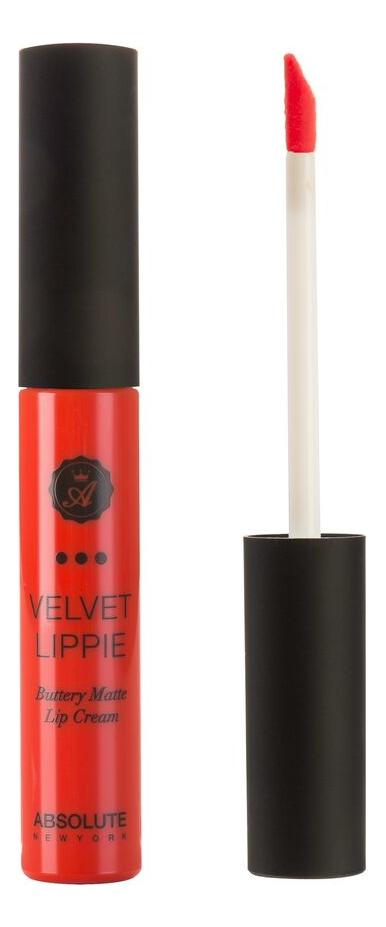 Жидкая матовая помада для губ Velvet Lippie 6мл: AVL11 Poppy absolute new york жидкая матовая помада velvet lippie 26 оттенков mojito