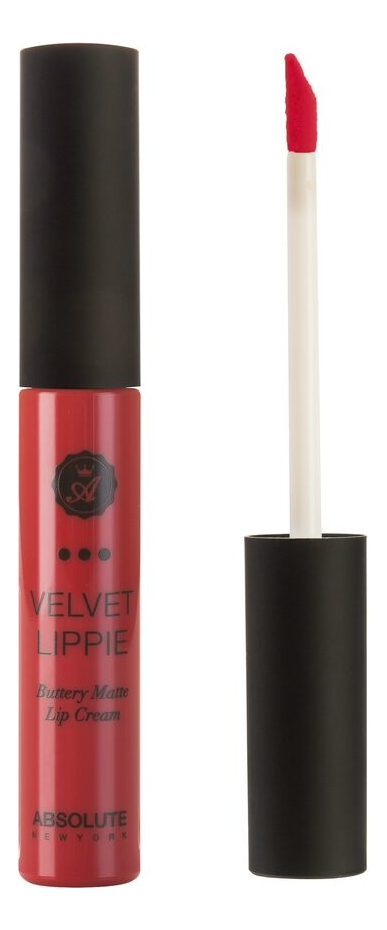 Жидкая матовая помада для губ Velvet Lippie 6мл: AVL16 Maneater absolute new york жидкая матовая помада velvet lippie 26 оттенков mojito