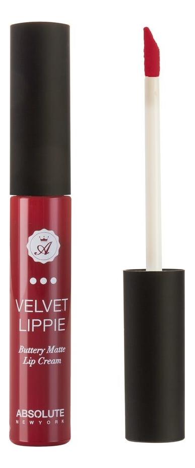 Жидкая матовая помада для губ Velvet Lippie 6мл: AVL21 Fatale absolute new york жидкая матовая помада velvet lippie 26 оттенков mojito
