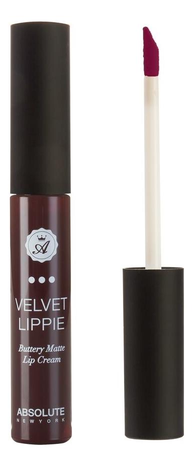 Жидкая матовая помада для губ Velvet Lippie 6мл: AVL22 Vampette absolute new york жидкая матовая помада velvet lippie 26 оттенков mojito