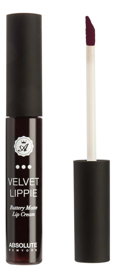 Жидкая матовая помада для губ Velvet Lippie 6мл: AVL23 Wicked absolute new york жидкая матовая помада velvet lippie 26 оттенков mojito