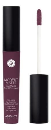 Матовая помада для губ Modest Matte 5мл: MML06 Risque absolute new york жидкая губная помада матовая modest matte 11 оттенков 8 гр modest matte