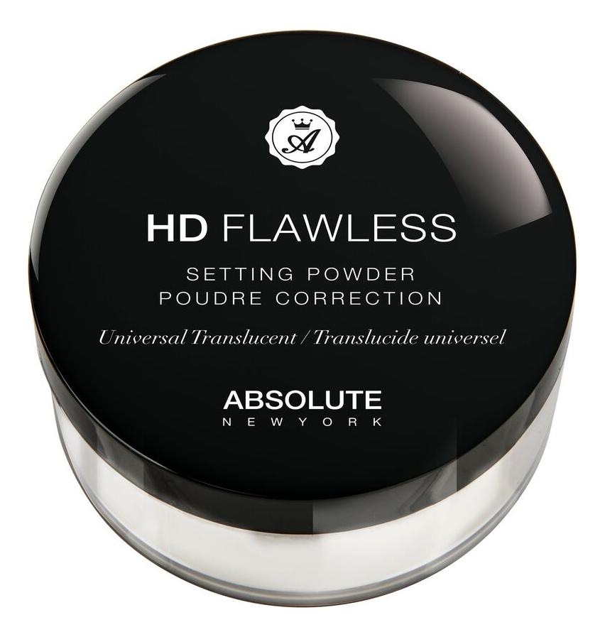 Рассыпчатая пудра для лица HD Flawless Setting Powder 15г: HDSP01 Universal Translucent