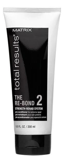 Кондиционер для волос Total Results The Re-Bond Strength Rehab System Pre-Conditioner: Кондиционер 200мл matrix total results re bond пре кондиционер для восстановления волос 200 мл