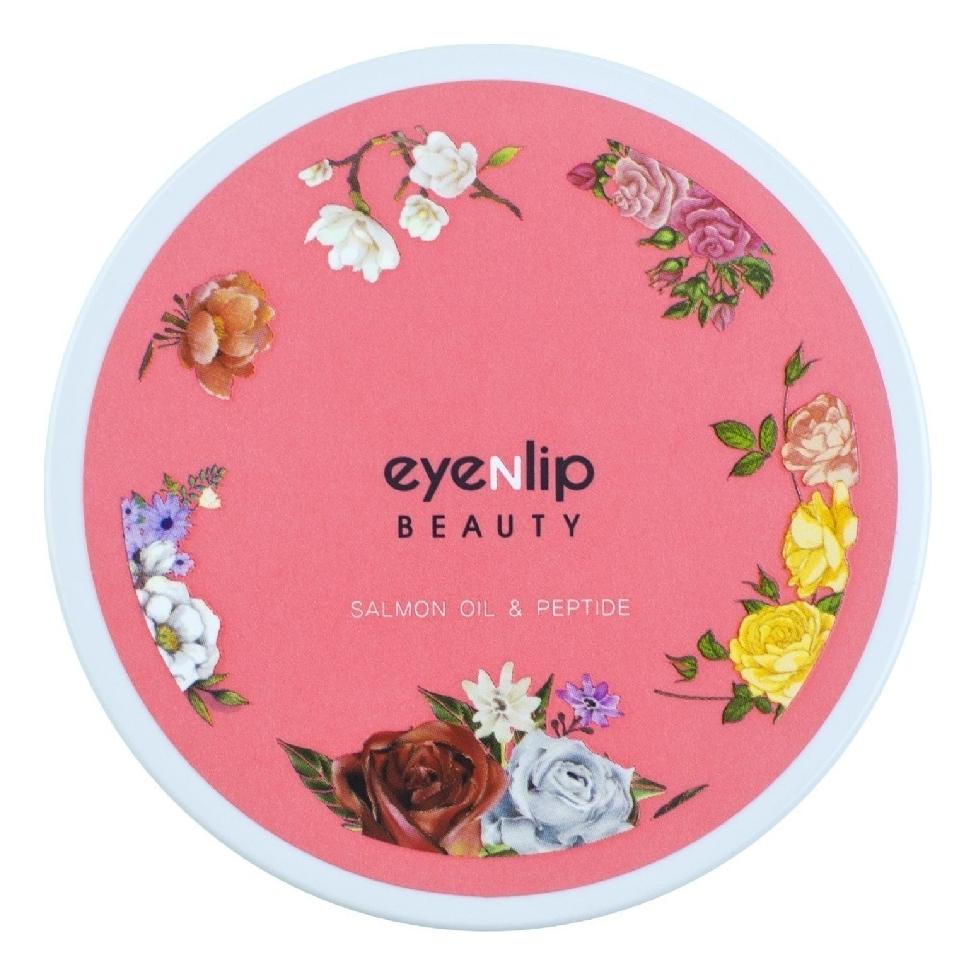 Патчи для глаз гидрогелевые с лососевым маслом и пептидами Eye Patch Salmon Oil & Peptide 60шт