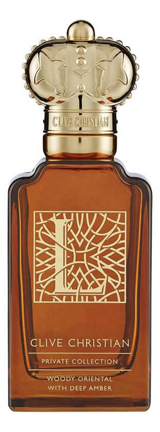 Clive Christian L: Woody Oriental: духи 50мл тестер clive christian e for men gourmand oriental with sweet clove парфюм 50 мл