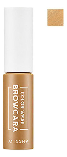 Тушь для бровей Color Wear Browcara 7,5г: Blondy Brown тушь для бровей saemmul browcara 4 5мл 03 dark brown