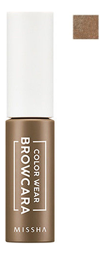 Тушь для бровей Color Wear Browcara 7,5г: Cappuccino Brown тушь для бровей saemmul browcara 4 5мл 03 dark brown