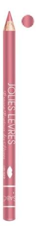 Карандаш для губ Jolies Levres Crayon Contour Des Levres 1,4г: No 111 блеск для губ ruta bombastic 111 цвет 111 сладкая конфетка variant hex name ecb4c3