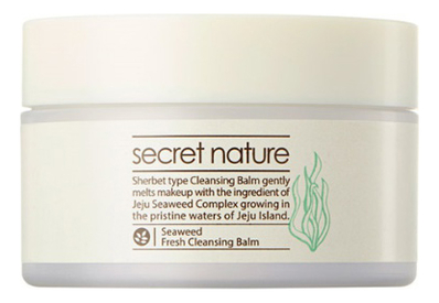 Очищающий бальзам для лица с экстрактом морских водорослей Cleansing Line Seaweed Fresh Balm 100г pronight fresh line