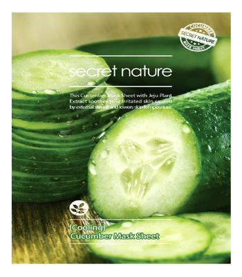 Освежающая тканевая маска для лица с экстрактом огурца Mask Line Cucumber Sheet 25мл