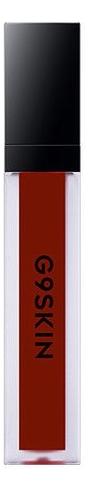 Помада для губ матовая G9 Skin First Lip Matte 6г: 03 Chili Red yadah лак для губ be my lip lacquer 02 chili red
