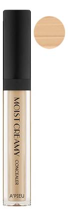 Консилер кремовый увлажняющий Moist Creamy Concealer SPF30 PA++ 7г: 05 Sand a pieu консилер moist creamy concealer оттенок 04 beige