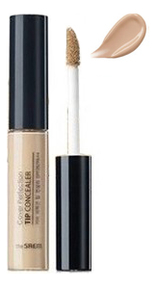 Точечный консилер для лица Cover Perfection Tip Concealer SPF28 РА++ 6,5г: 1,25 Light Beige консилер для лица camouflage cream 3г 020 light beige
