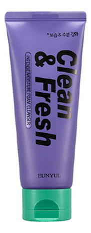 Пенка для умывания Clean & Fresh Intense Moisture Foam Cleansing 150мл fresh line 3 in 1 lavender cleansing foam