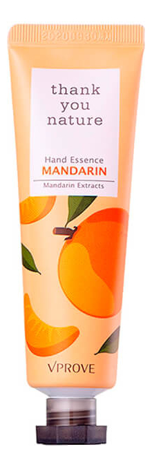 Крем-эссенция для рук увлажняющий Thank You Nature Hand Essence Mandarin 30мл (мандарин)