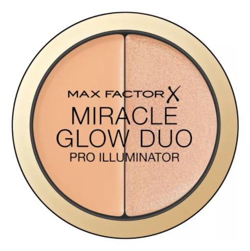 Хайлайтер для лица Miracle Glow Duo: 20 Medium хайлайтер для лица miracle glow duo 10 light