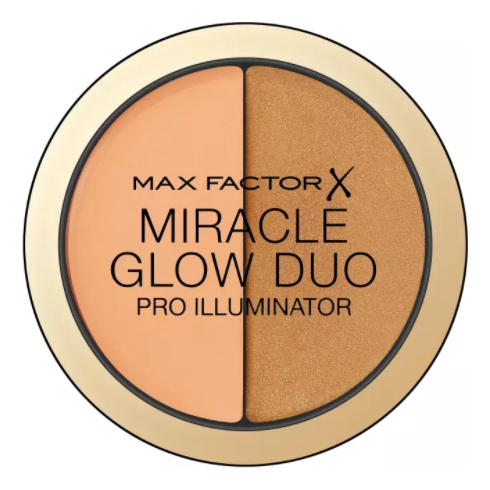 Хайлайтер для лица Miracle Glow Duo: 30 Deep хайлайтер для лица miracle glow duo 10 light