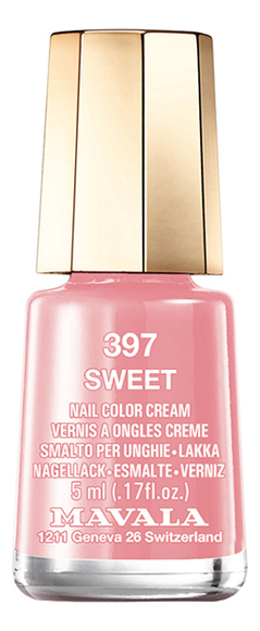 Лак для ногтей Nail Color Cream 5мл: 397 Sweet