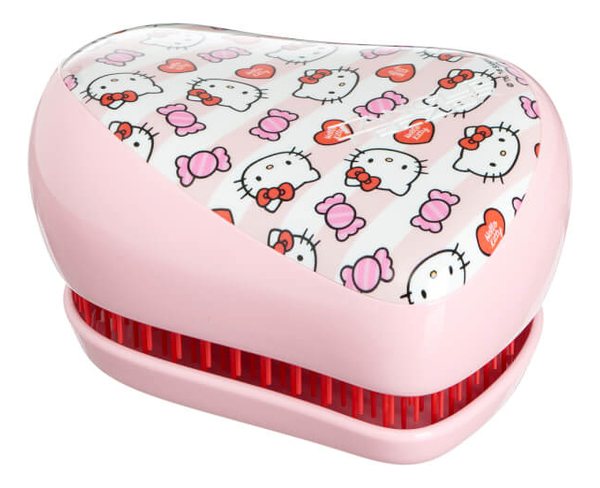 Расческа для волос Compact Styler Hello Kitty Candy Stripes