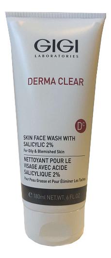 Очищающий мусс для лица Derma Clear Skin Face Wash: Мусс 180мл урьяж мусс очищающий