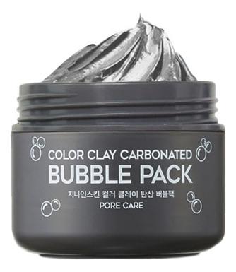 Глиняная маска для лица G9 Skin Color Clay Carbonated Bubble Pack 100мл laneige mini pore маска глиняная увлажняющая для сужения пор mini pore маска глиняная увлажняющая для сужения пор