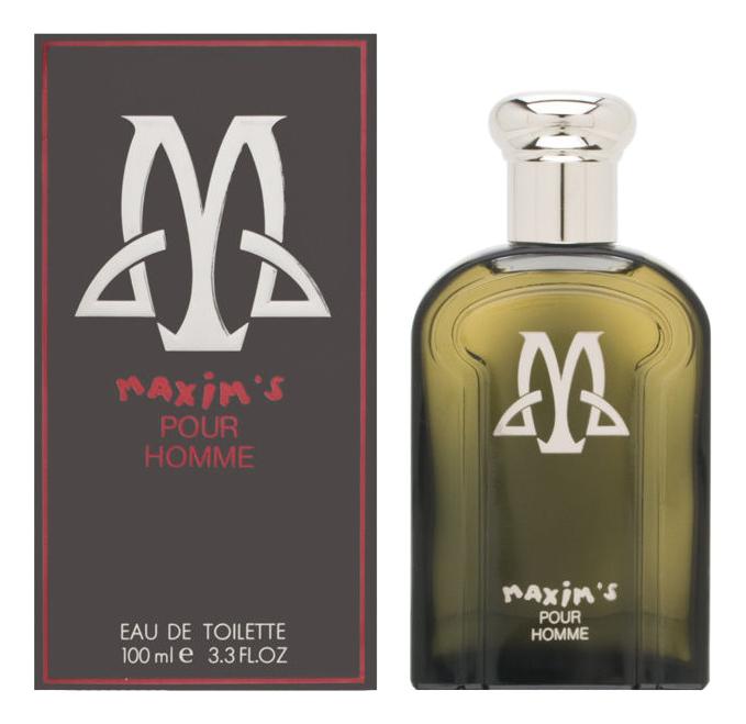 Maxim`s De Paris Maxim`s Pour Homme: туалетная вода 100мл