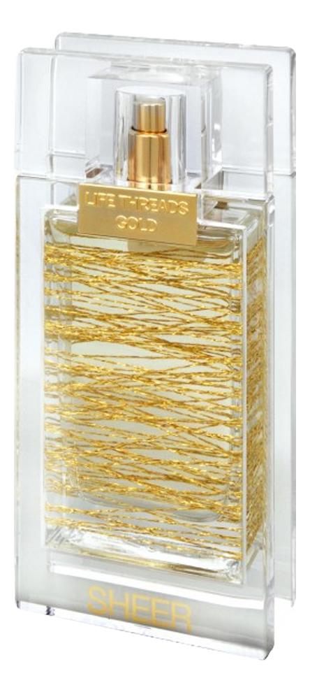 La Prairie Life Threads Gold Sheer: туалетная вода 50мл тестер la prairie life threads emerald туалетные духи тестер 50 мл