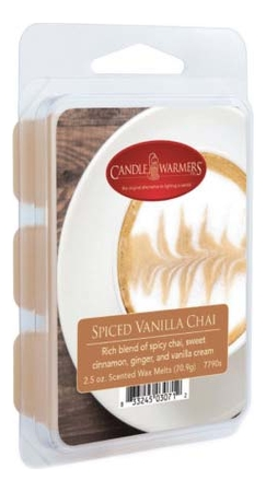Наполнитель для воскоплавов Spiced Vanilla Chai Wax Melts 70,9г наполнитель для воскоплавов serene woods wax melts 70 9г
