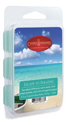 Наполнитель для воскоплавов Escape To Paradise Wax Melts 70,9г наполнитель для воскоплавов serene woods wax melts 70 9г