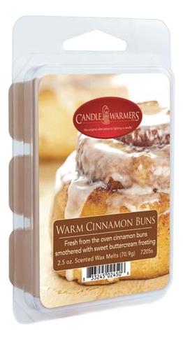 Наполнитель для воскоплавов Warm Cinnamon Buns Wax Melts 70,9г наполнитель для воскоплавов serene woods wax melts 70 9г