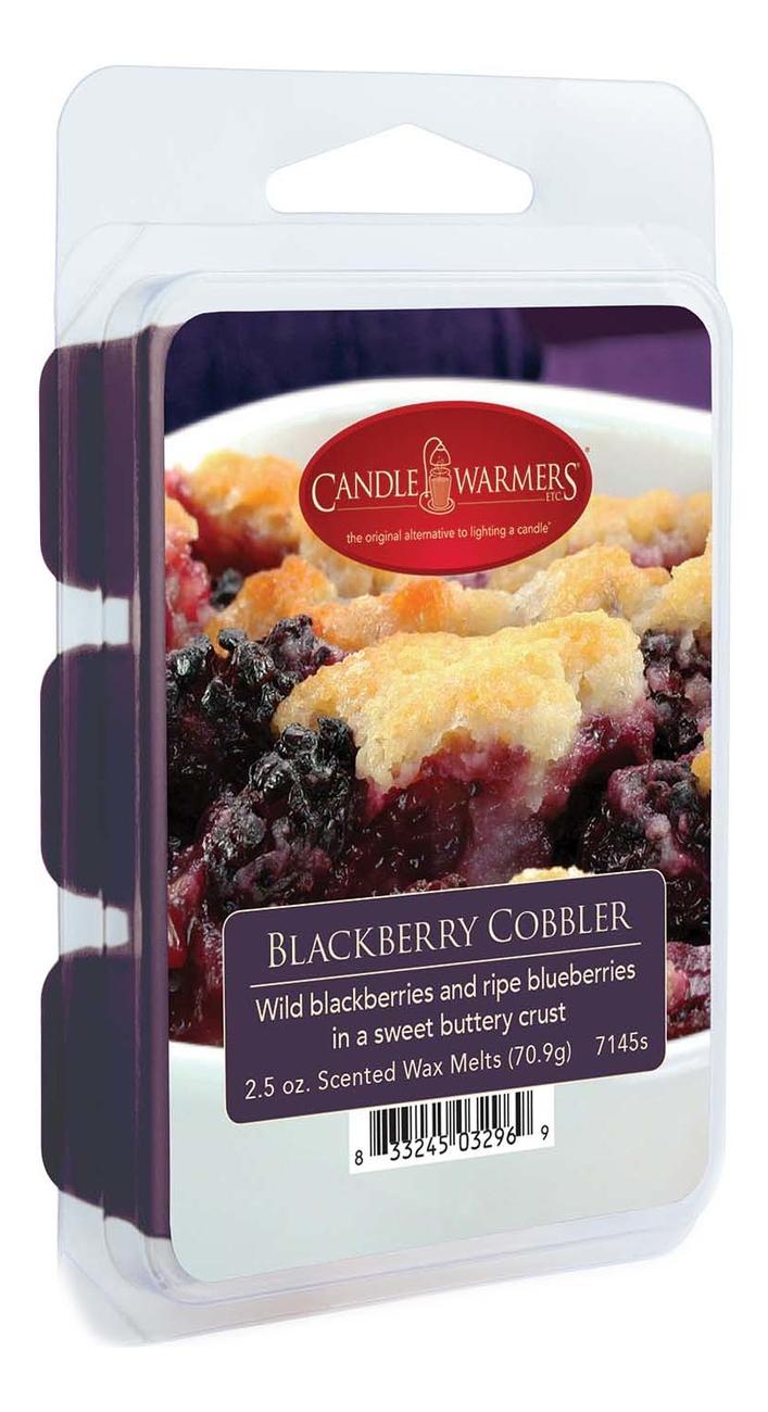 Наполнитель для воскоплавов Blackberry Cobbler Wax Melts 70,9г наполнитель для воскоплавов serene woods wax melts 70 9г